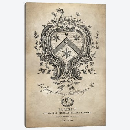 Heraldry IV Canvas Print #OJE12} by Oliver Jeffries Canvas Art