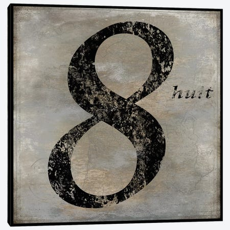 huit Canvas Print #OJE13} by Oliver Jeffries Canvas Artwork