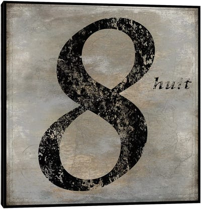 huit Canvas Art Print