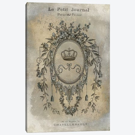 Le Petite Journal Canvas Print #OJE14} by Oliver Jeffries Art Print
