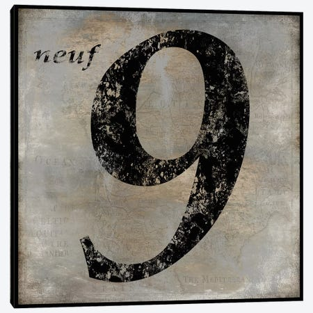neuf Canvas Print #OJE15} by Oliver Jeffries Canvas Print
