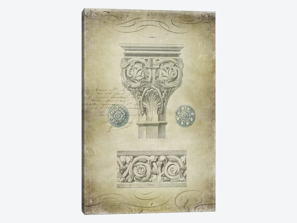 Ornamental I by Oliver Jeffries 1-piece Canvas Wall Art