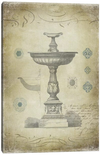 Ornamental II Canvas Print #OJE17