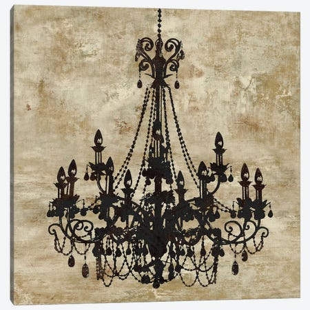 Chandelier I Canvas Print #OJE1} by Oliver Jeffries Canvas Art