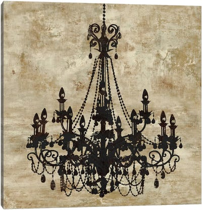 Chandelier I Canvas Art Print