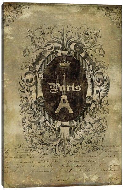 Paris Classique II Canvas Print #OJE21