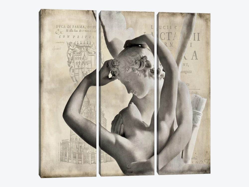 Renaissance III by Oliver Jeffries 3-piece Canvas Wall Art