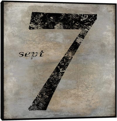 sept Canvas Art Print