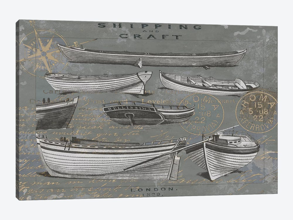 Shipping And Craft I by Oliver Jeffries 1-piece Art Print