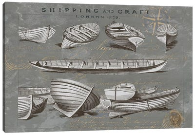 Shipping And Craft II Canvas Art Print