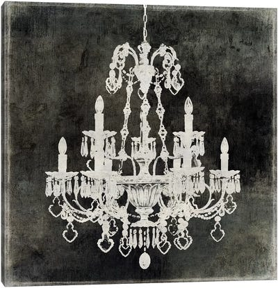 Chandelier II Canvas Art Print