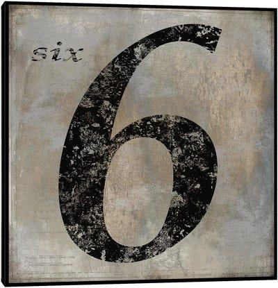 six Canvas Art Print
