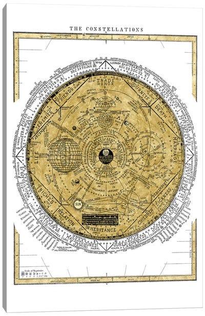 The Constellations Canvas Art Print