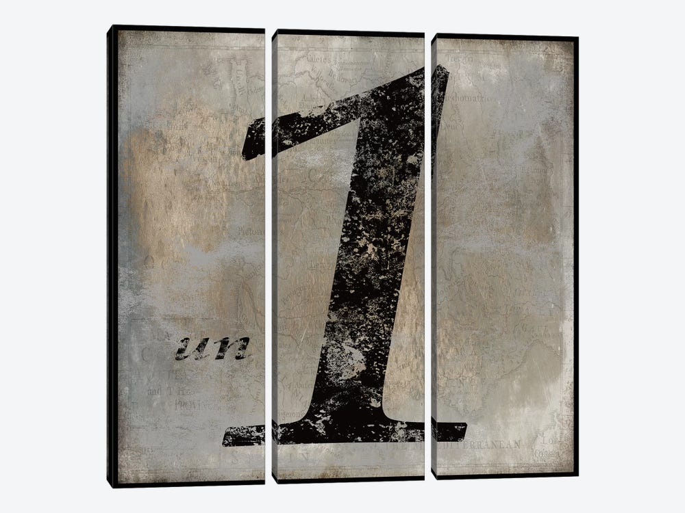un by Oliver Jeffries 3-piece Art Print
