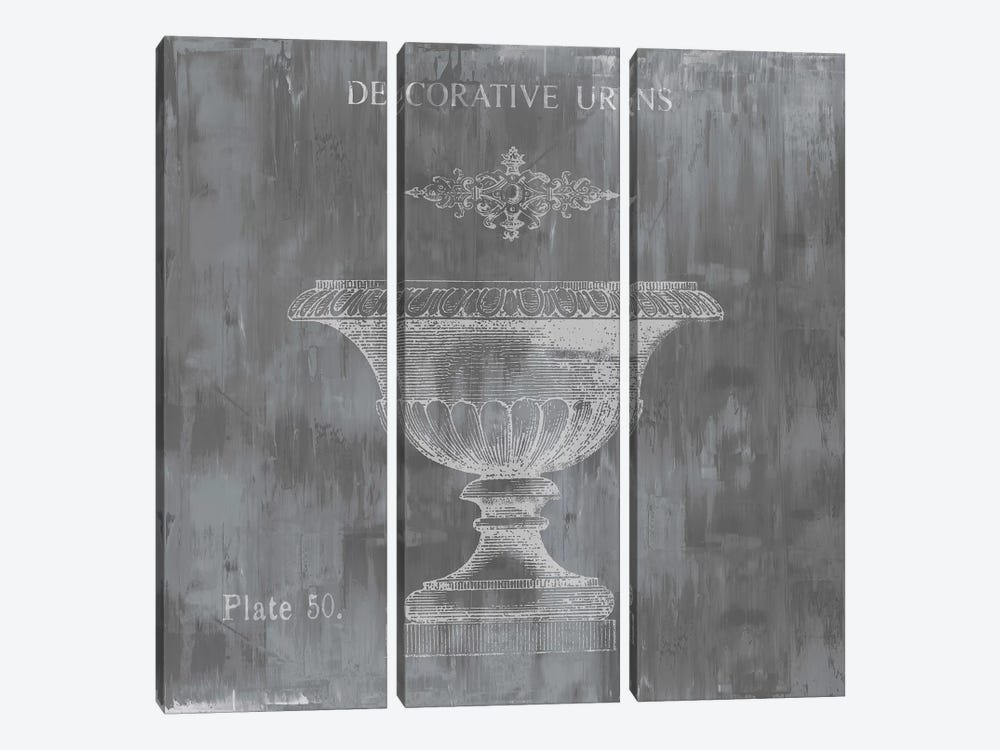 Urns & Ornaments I by Oliver Jeffries 3-piece Canvas Art