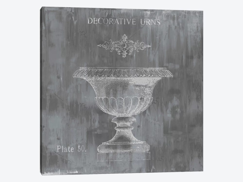 Urns & Ornaments I by Oliver Jeffries 1-piece Canvas Wall Art