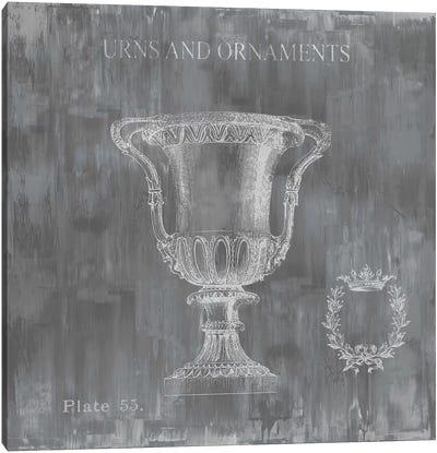 Urns & Ornaments II Canvas Art Print