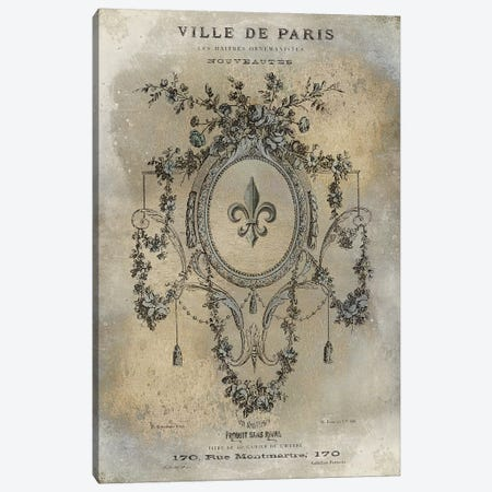 Ville de Paris Canvas Print #OJE38} by Oliver Jeffries Canvas Wall Art