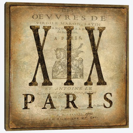 Paris Canvas Print #OJE42} by Oliver Jeffries Canvas Print