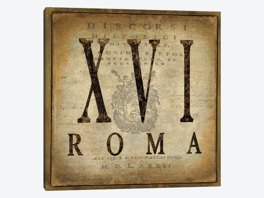 Roma by Oliver Jeffries 1-piece Canvas Wall Art