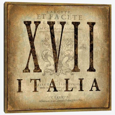 Italia Canvas Print #OJE44} by Oliver Jeffries Canvas Artwork