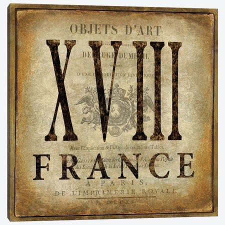 France Canvas Print #OJE45} by Oliver Jeffries Canvas Artwork