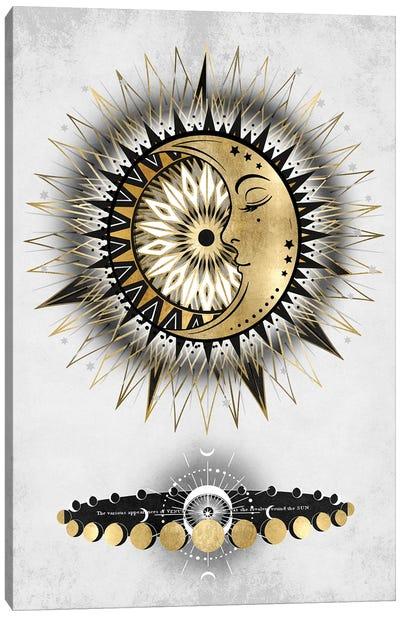 Meditative Moon I Canvas Art Print