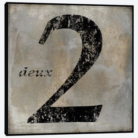 deux Canvas Print #OJE4} by Oliver Jeffries Canvas Art Print