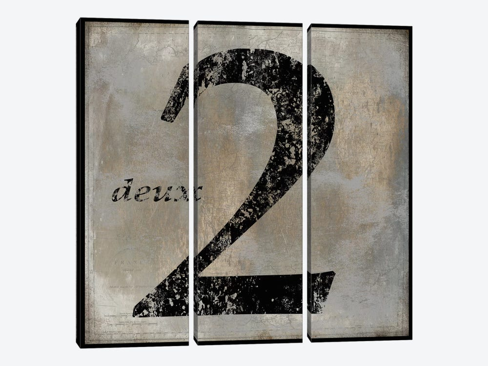 deux by Oliver Jeffries 3-piece Art Print