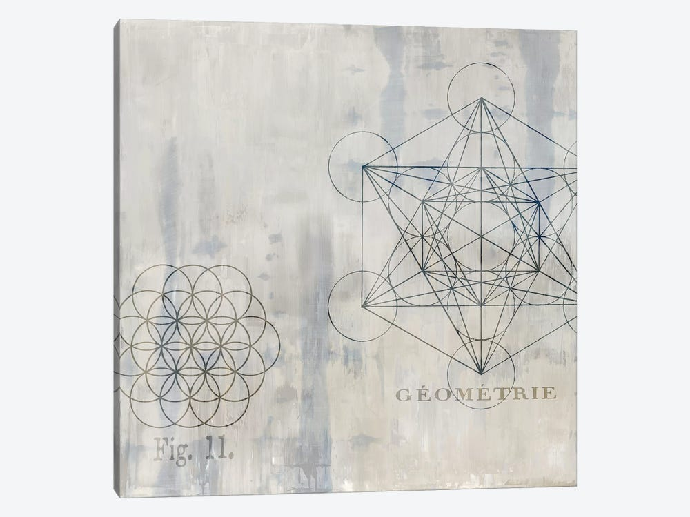 Géométrie I by Oliver Jeffries 1-piece Canvas Art