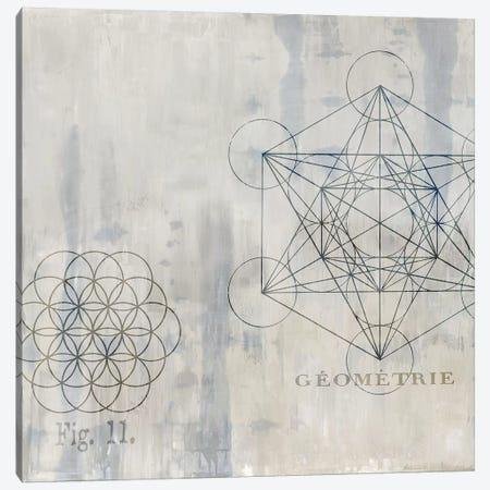Géométrie I Canvas Print #OJE5} by Oliver Jeffries Canvas Art Print