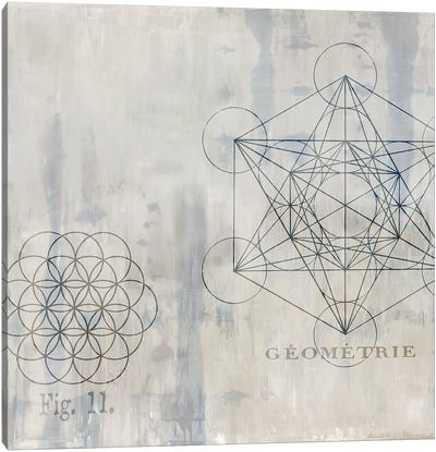 Géométrie I Canvas Art Print