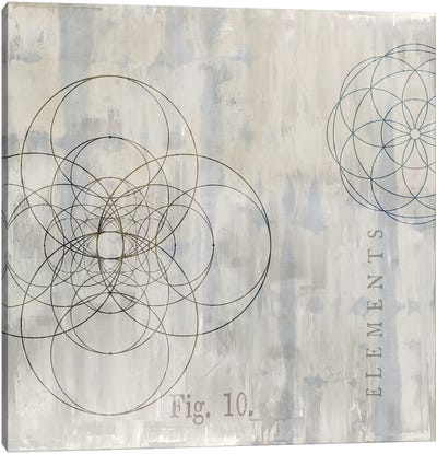 Géométrie II Canvas Print #OJE6