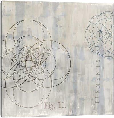 Géométrie II Canvas Art Print