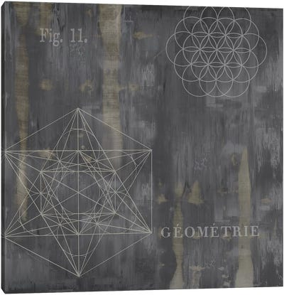 Géométrie III Canvas Art Print