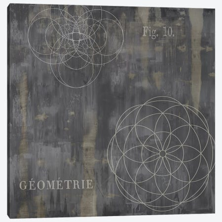 Géométrie IV Canvas Print #OJE8} by Oliver Jeffries Canvas Art