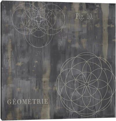 Géométrie IV Canvas Art Print