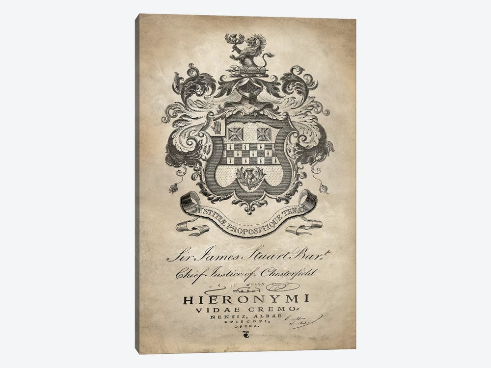 Heraldry I by Oliver Jeffries 1-piece Canvas Art