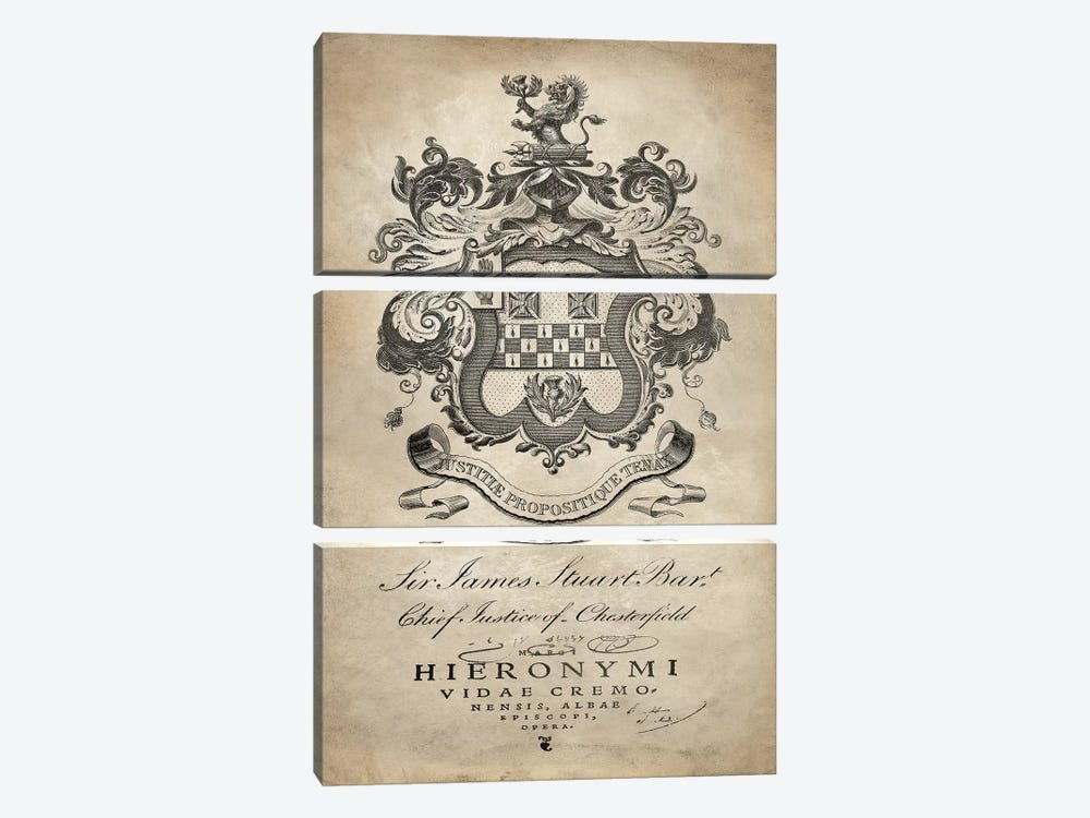 Heraldry I by Oliver Jeffries 3-piece Canvas Art