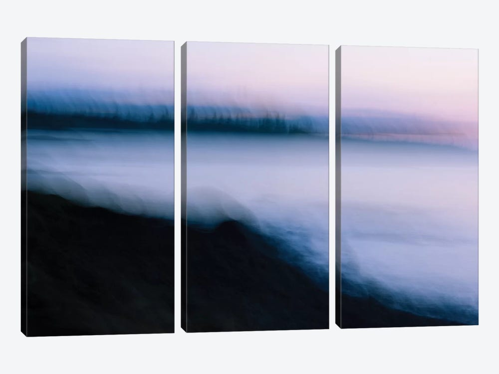 By The Sea by Olivia Joy StClaire 3-piece Canvas Artwork