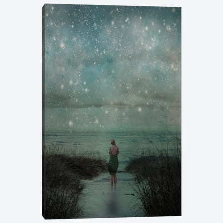Celestial Canvas Print #OJS108} by Olivia Joy StClaire Canvas Art Print