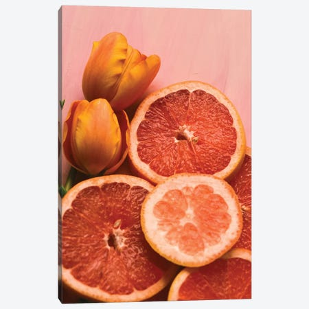 Citrus I Canvas Print #OJS109} by Olivia Joy StClaire Canvas Art Print