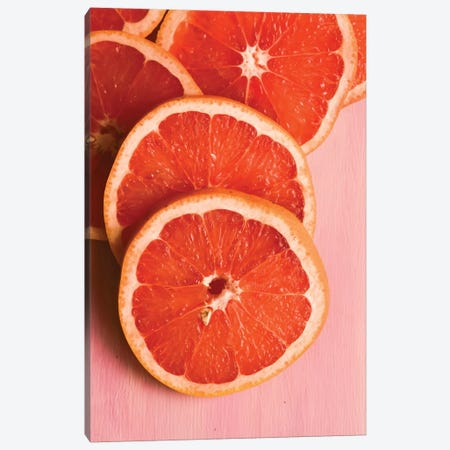 Citrus II Canvas Print #OJS110} by Olivia Joy StClaire Canvas Artwork