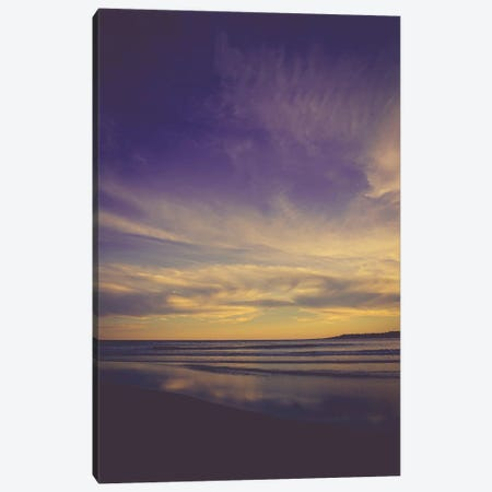 Evening At The Beach II Canvas Print #OJS125} by Olivia Joy StClaire Canvas Artwork