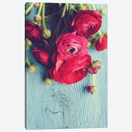 Flower 3-Piece Canvas #OJS130} by Olivia Joy StClaire Canvas Wall Art