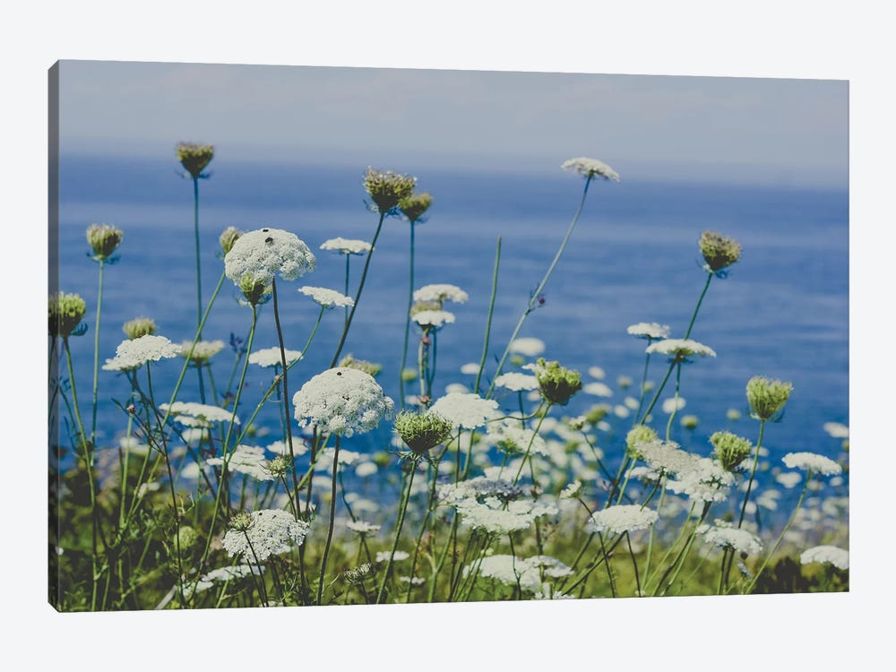 Flowers By The Sea by Olivia Joy StClaire 1-piece Art Print