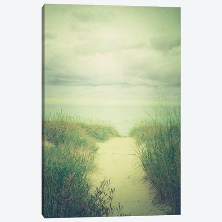 Morning At The Sea Canvas Print #OJS148} by Olivia Joy StClaire Canvas Print