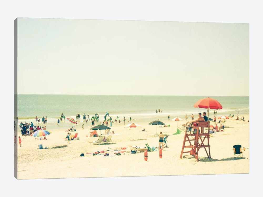 Day At The Beach by Olivia Joy StClaire 1-piece Art Print