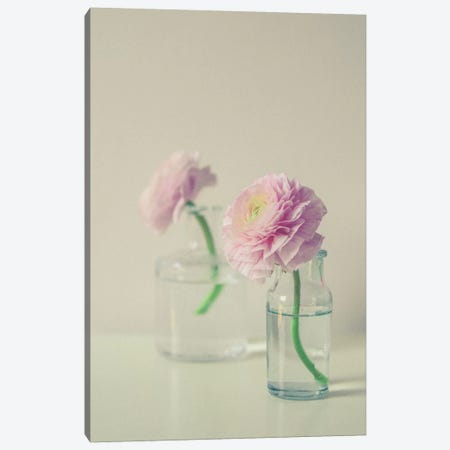 Pastel Floral Still Life Canvas Print #OJS155} by Olivia Joy StClaire Canvas Art Print