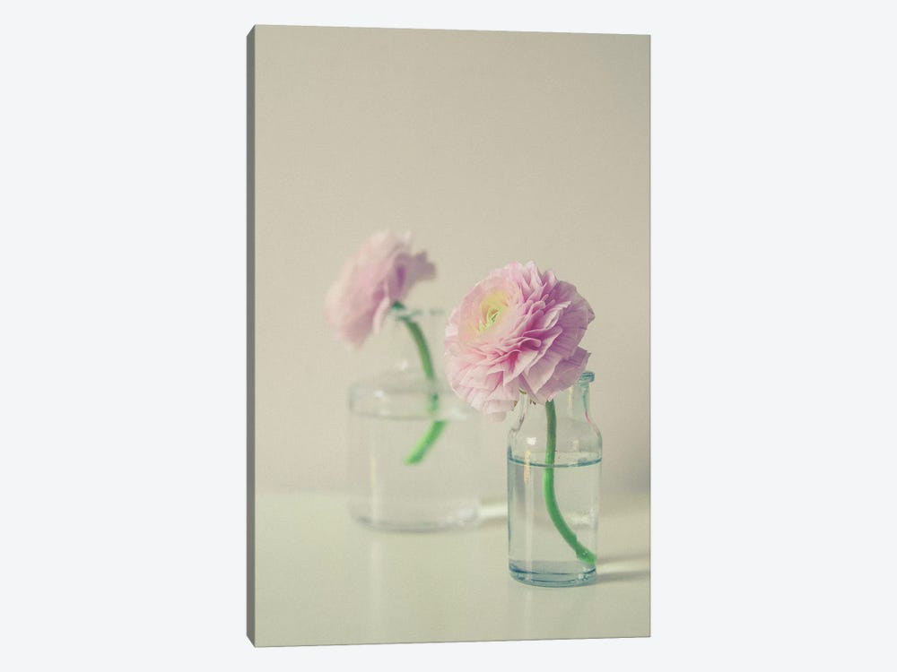 Pastel Floral Still Life by Olivia Joy StClaire 1-piece Art Print